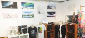 Showcase area